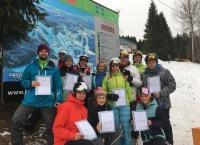 Vsportklub, z.s. - Zadov - opět se nám podařilo vyškolit nové instruktory lyžování. 26. 1. 2020